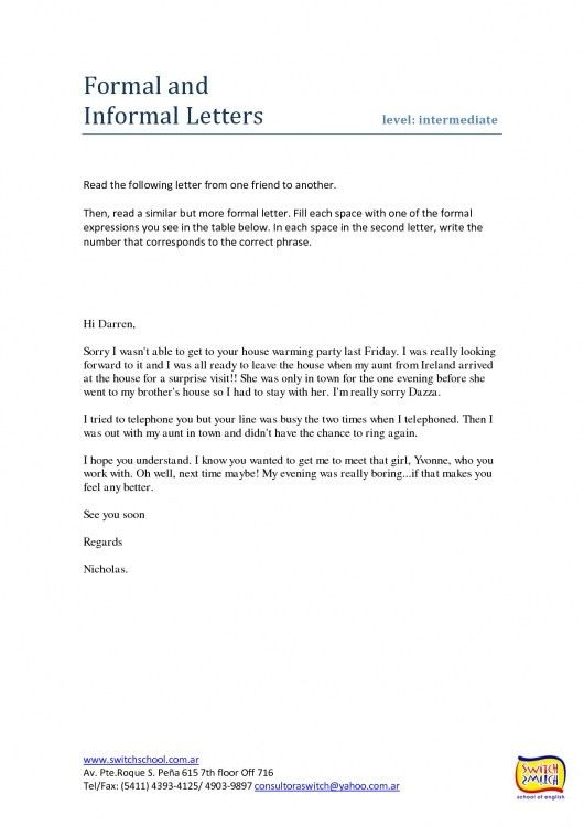 Example Of Formal Letter. Formal Request Letter Sample Formal ...