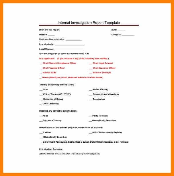 7+ inquiry report format sample | target cashier
