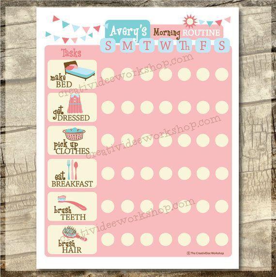 Best 20+ Daily routine chart ideas on Pinterest | Kids routine ...