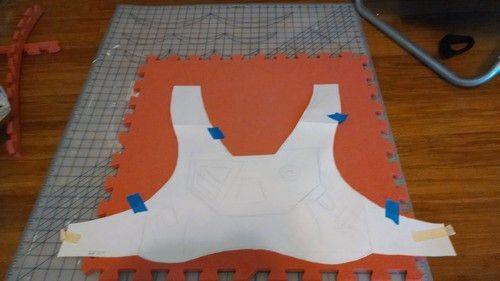foam armor build | Tumblr