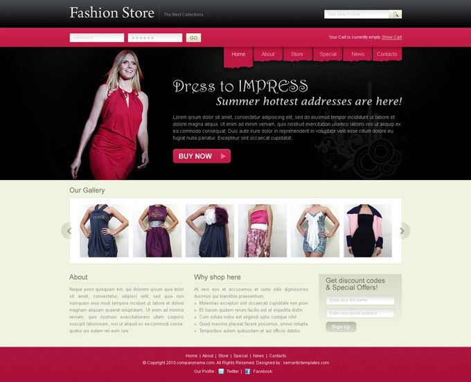 Best website template psd for sale on affordable price | Website ...