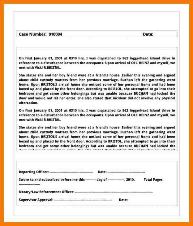 8+ complaint report template | park-attendant