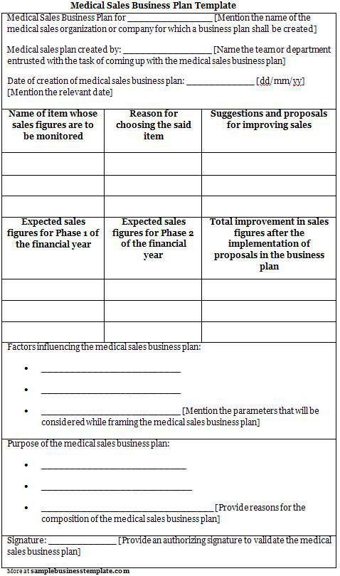 sale proposal template