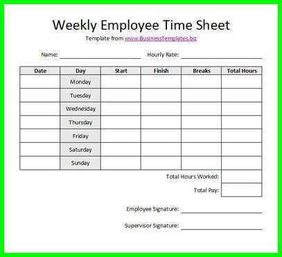 26 best crew timesheets images on Pinterest | Free printable ...