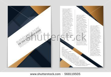 Abstract Vector Layout Background Set Art Stock Vector 568119505 ...
