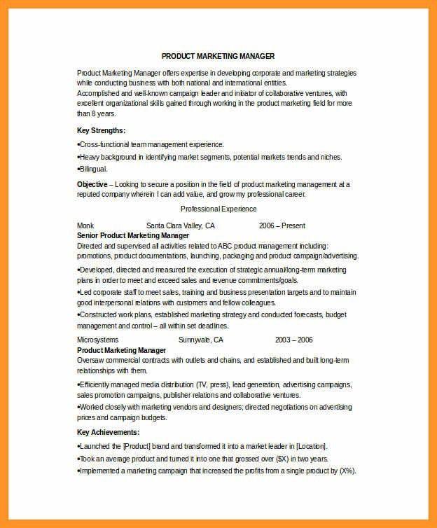 marketing coordinator resume sample | bio letter format