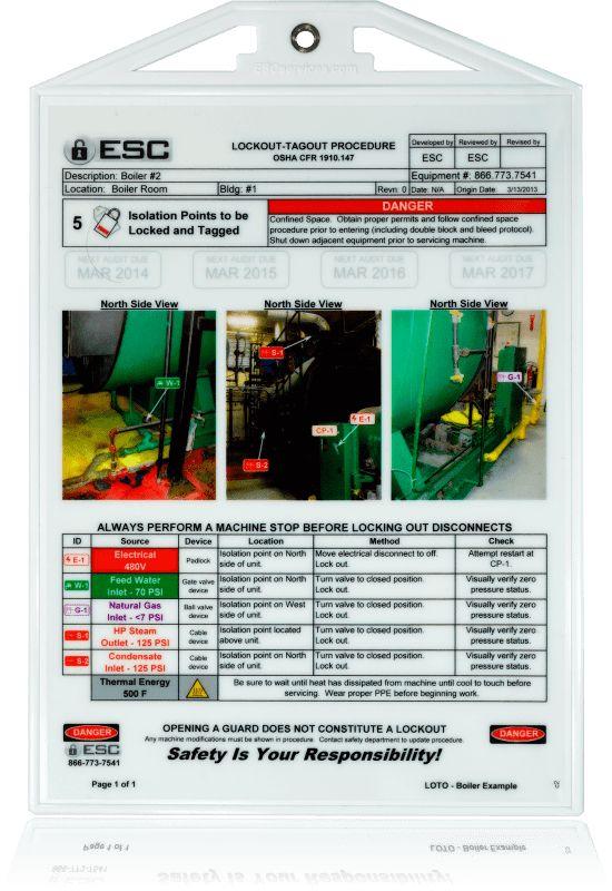 Lockout-Tagout Compliance From ESC Services - ESC Services
