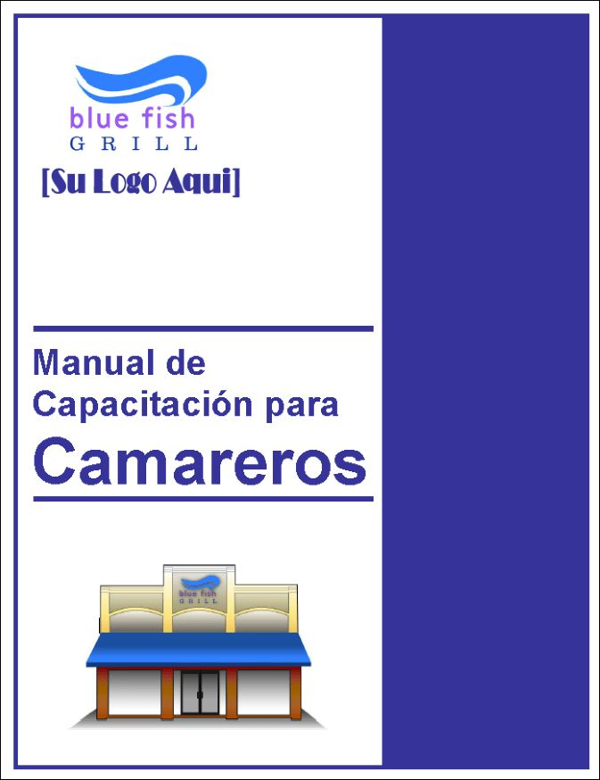 Restaurant Training Manual Templates - Spanish Edition
