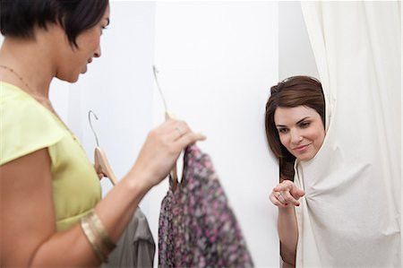Customer and salesperson clothing store Stock Photos - Page 1 ...