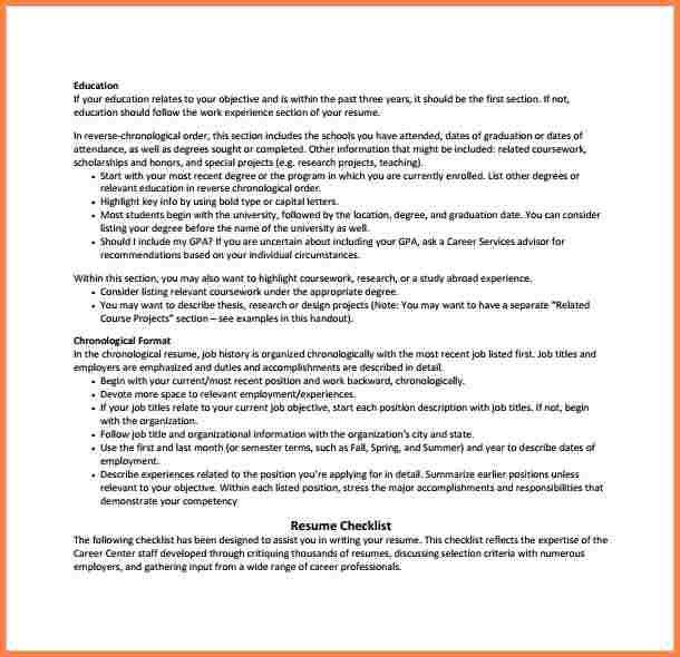 Opening Resume Statement - Ecordura.com