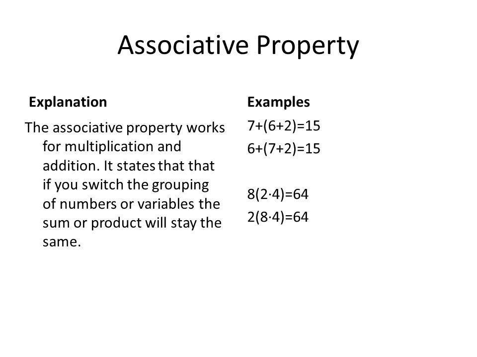 Properties of Algebra By: Will Bienkowski. - ppt download
