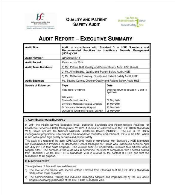 Summary Report Templates - 9+ Free Sample, Example, Format ...