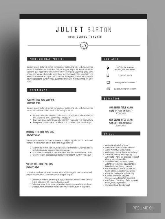 97 best Resume Design images on Pinterest | Resume ideas, Cv ...