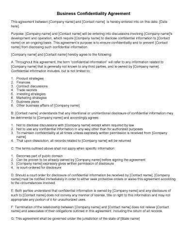 business agreement letter between two parties how to write a