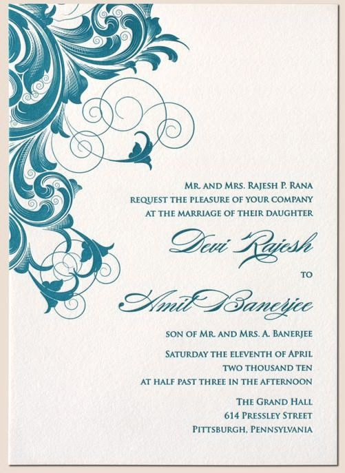 Wedding Invitation Card Design Template Great With Images Of Plans ...