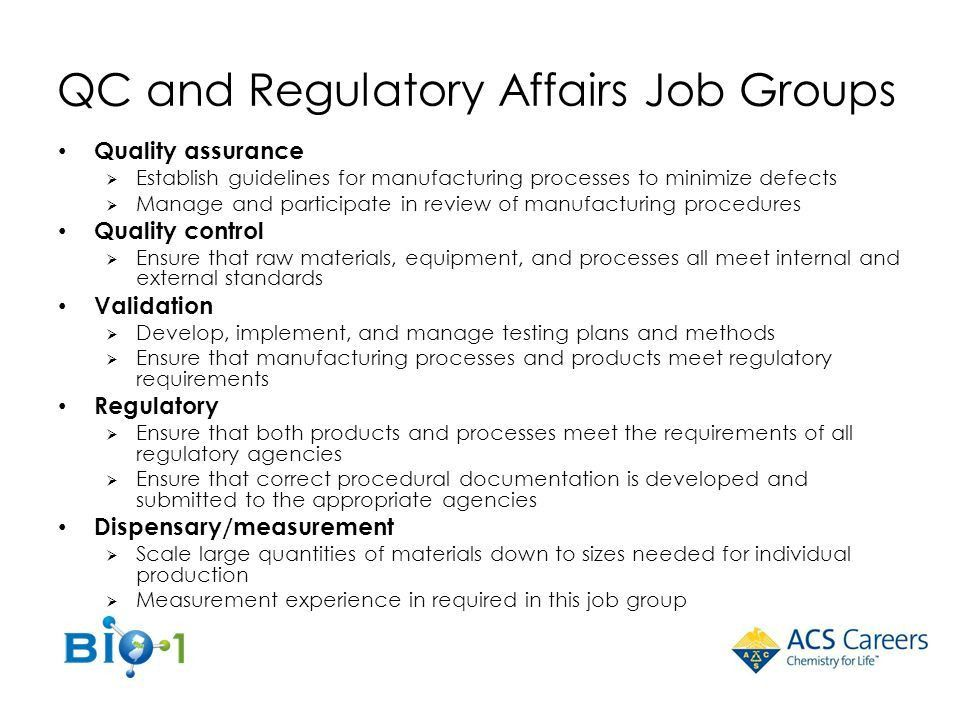 Jobs in the Pharma, Biotech, and Green Industries - ppt download
