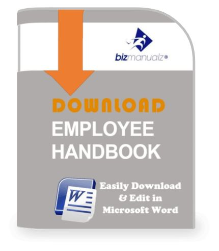 Small Business Employee Handbook Template | Employee Handbook Forms