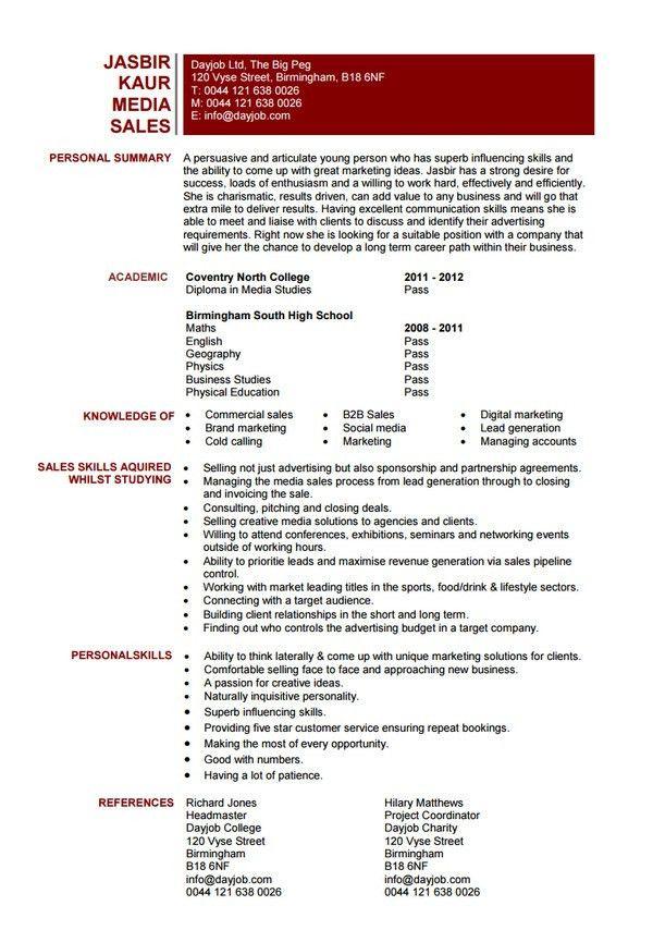 10+ Sales Resume Templates - Free Word, PDF, PSD, Samples
