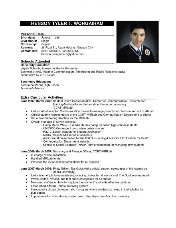 Professional Dance Resume Sample. dance resume can be used for ...