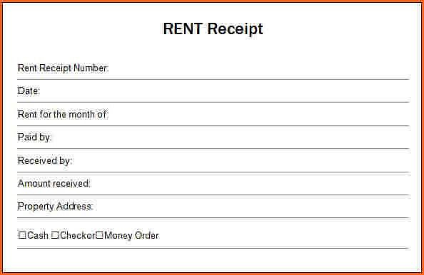 13+ printable rental receipt | a cover letters