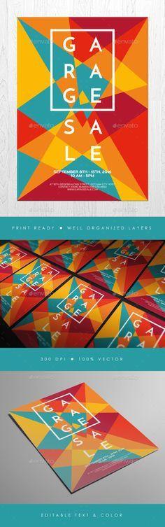 garage sale poster - Recherche Google | Design graphique ...