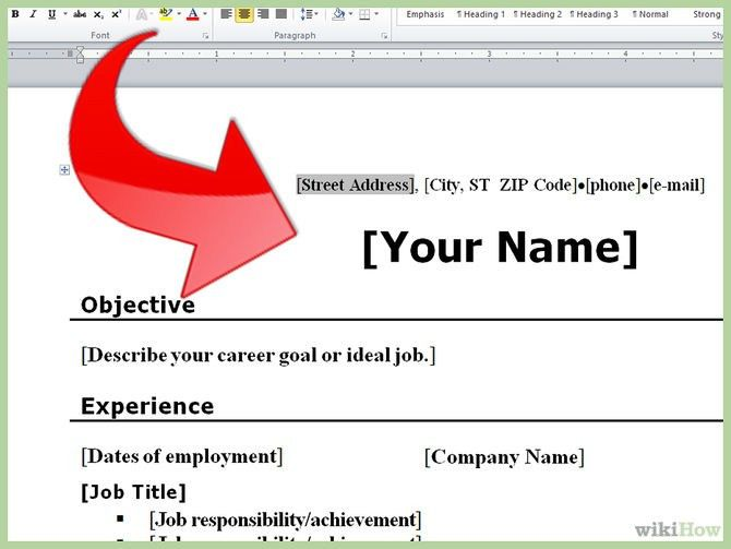 Make A Resume Free - Best Template Collection