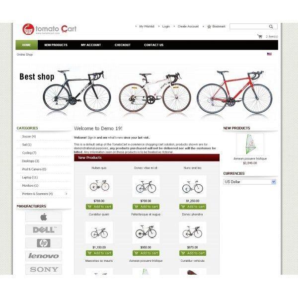 58 best Tomatocart templates images on Pinterest   Templates ...