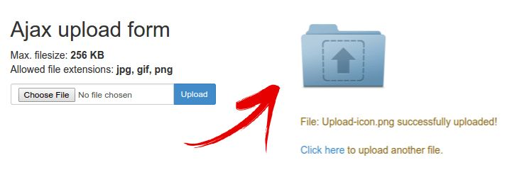 Ajax file upload PHP / jQuery Tutorial | Web Development Blog