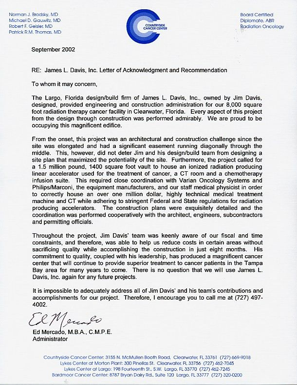 Recommendation Letter For Medical Doctors Samples - Cover Letter ...