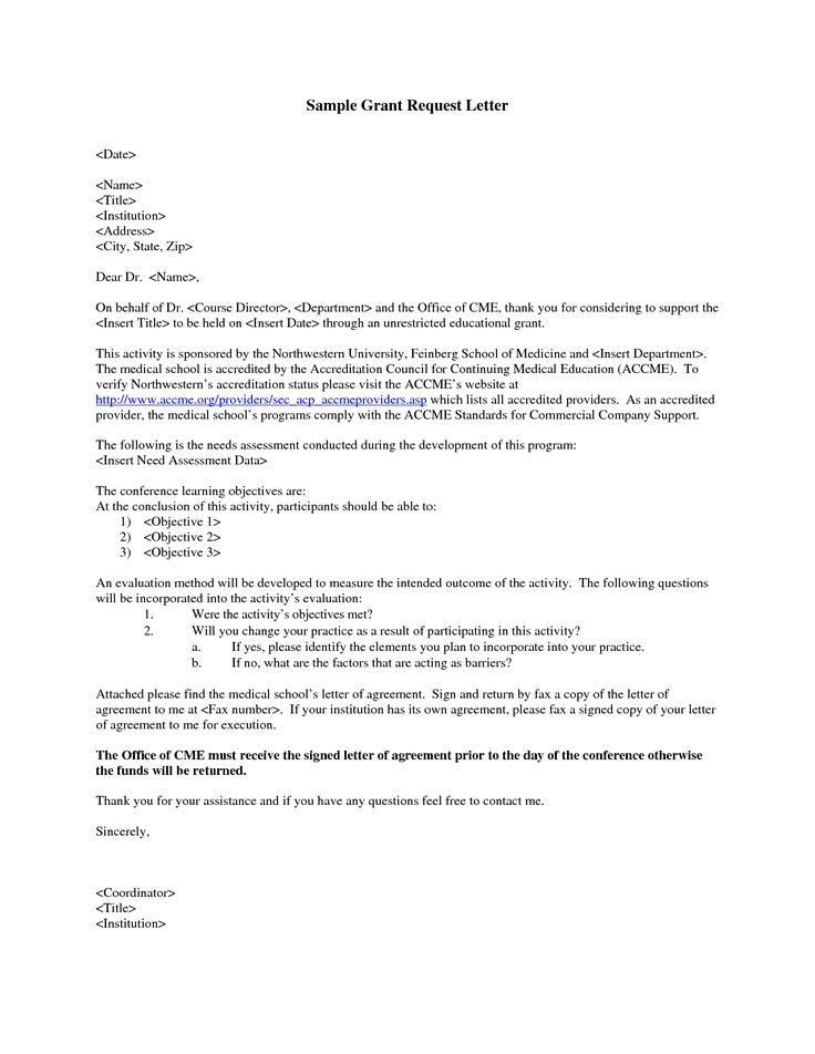 Requisition Letter Sample. Sample Letter For Requesting Funding Re ...
