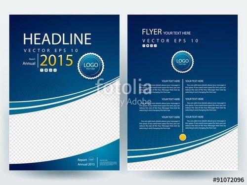 Abstract vector modern/ flyer design / brochure design template ...