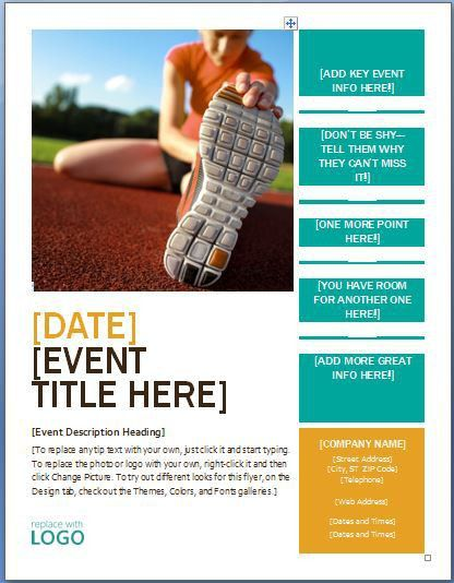 business event flyer Archives - Fine Word Templates
