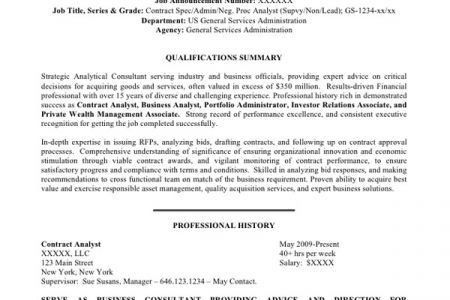 examples of federal resumes federal resume sample and format the