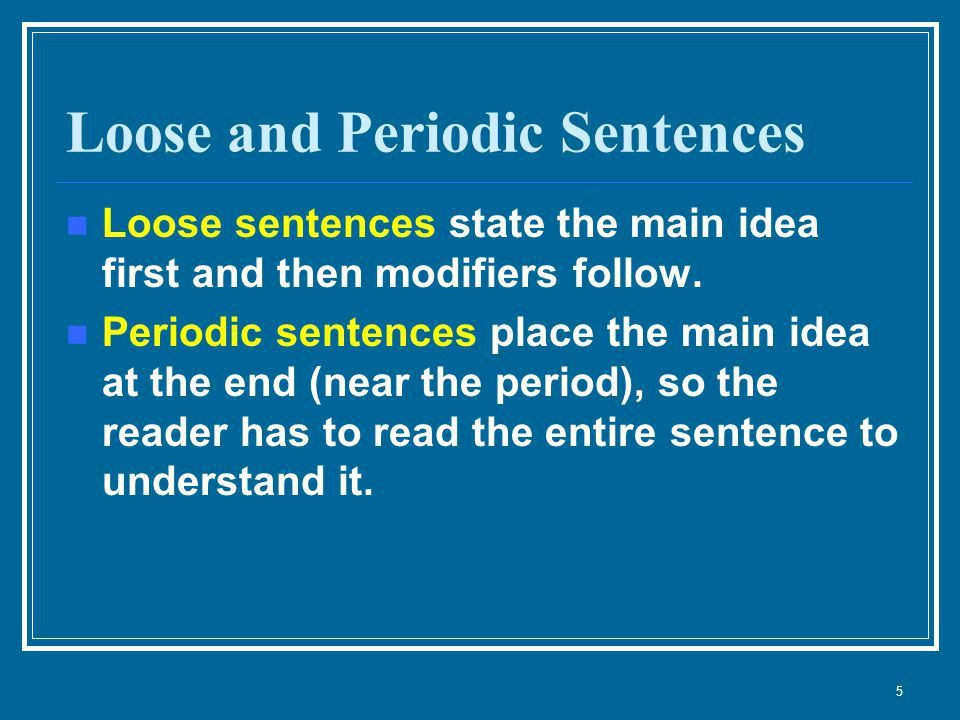 Syntax Order of words in a sentence and how sentences are placed ...