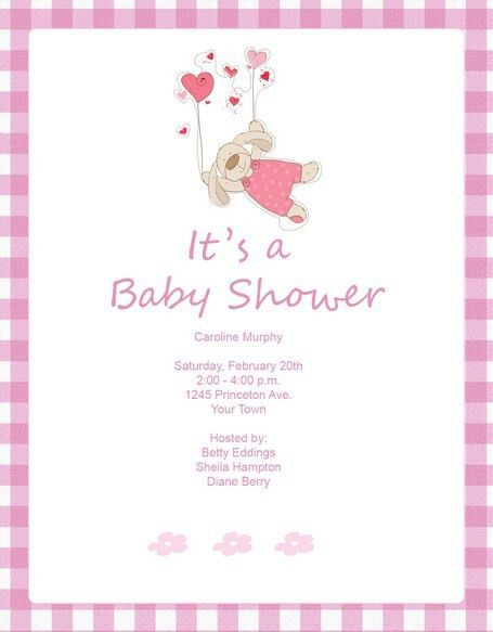 Vista Print Baby Shower Invitations Template | Best Template ...