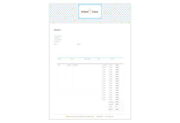 Babysitting & Infant Care Print Template Pack from Serif.com