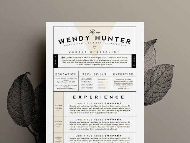 10 Design-Savvy Sites That Will Redesign Your Resume for You ...