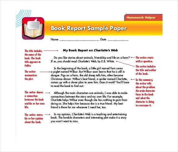 Powerpoint Book Report Template - Casseh.info