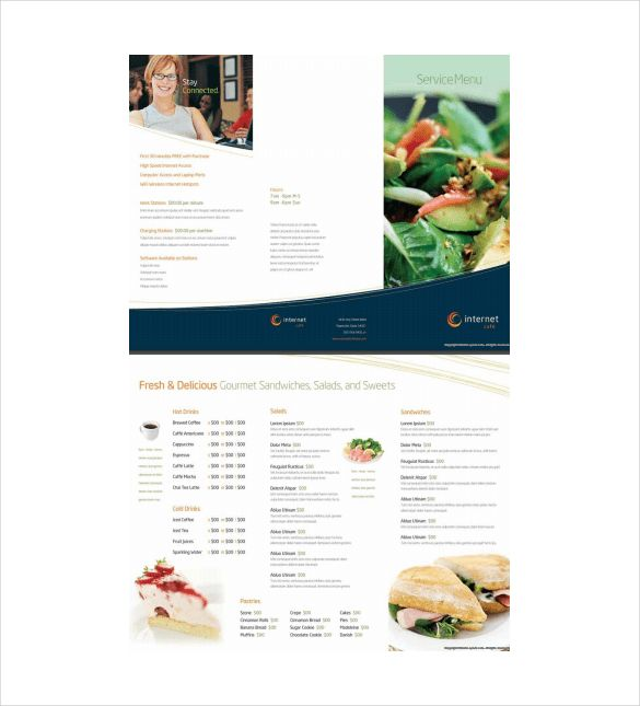 Free Menu Template – 21+ Free Word, PDF Documents Download! | Free ...
