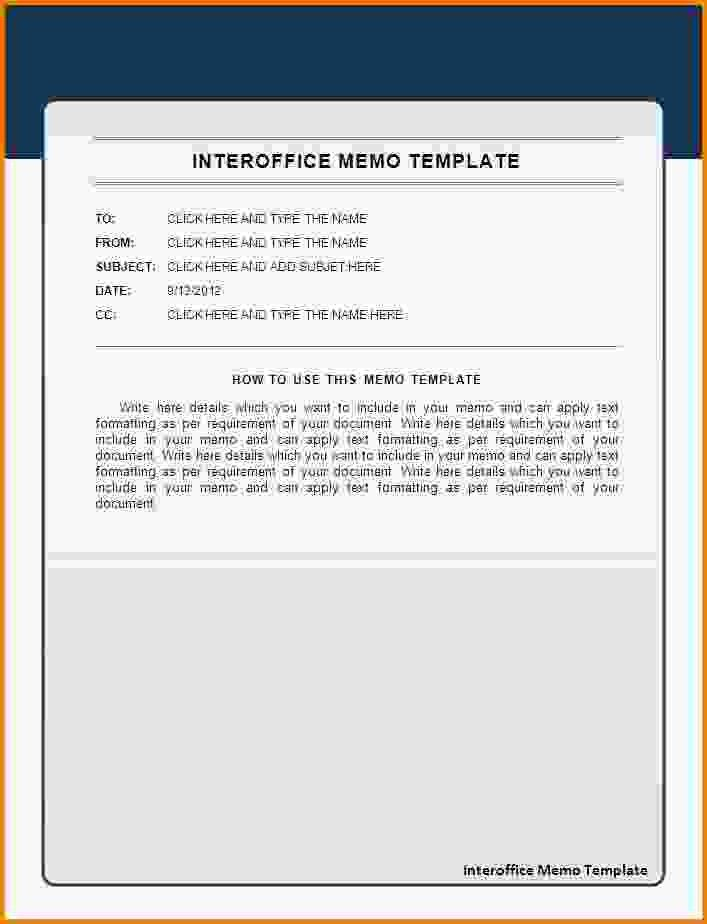 4+ memo format example | Letter Template Word