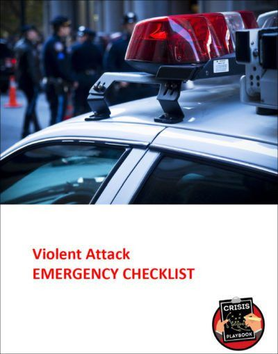Active Shooter Plan   Crisis Playbook