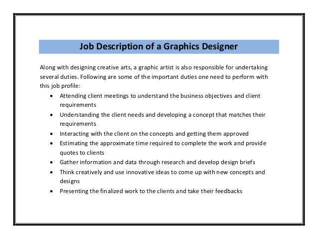 graphic designer resumes samples sperson cover letter graphic ...