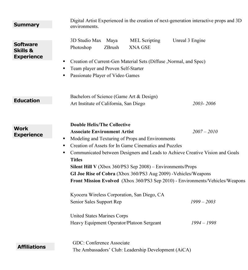 Beautician cv resume sample