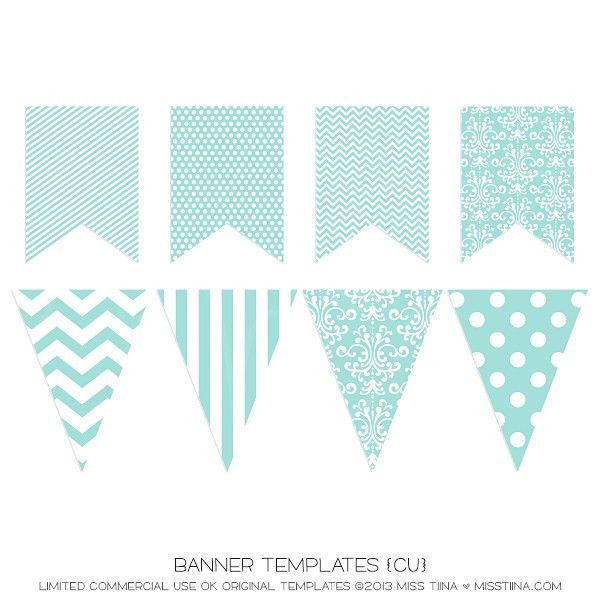 Flag banner template - Coloring Page | My Princess' Room ...