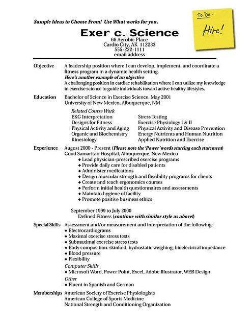 proper resume