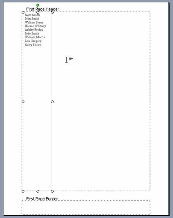 Create a Partners Letterhead Template in Microsoft Word
