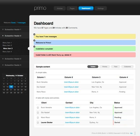 34 Outstanding Admin Panels for Your Web Applications
