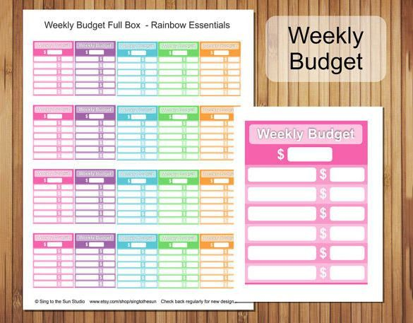 Weekly Budget Template. Monthly-Budget-Template-Free-Download Jpg ...