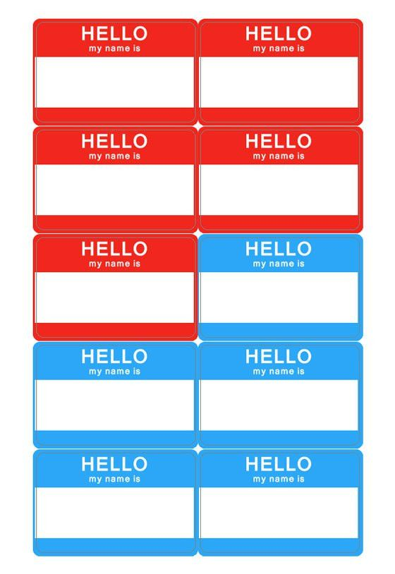 Name Tag Template Best Name Tag Templates Ideas On Pinterest - Target employee name tag template