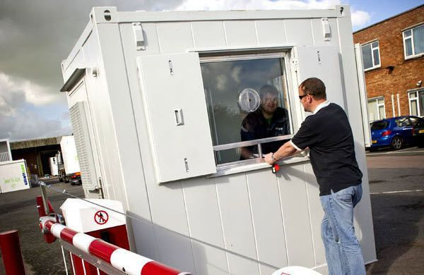 Office use portacabin / for technical use - ANTI-VANDAL SECURITY ...